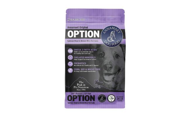 Annamaet Original Option Formula Dry Dog Food