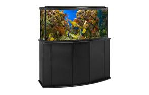 Aquatic Fundamentals Black Aquarium Stand