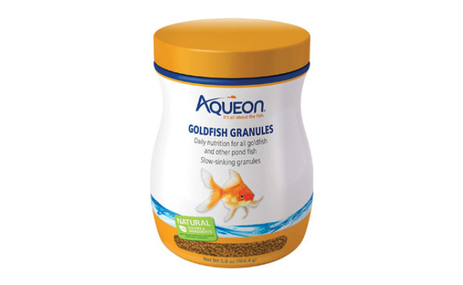 Aqueon Goldfish Granule Fish Food