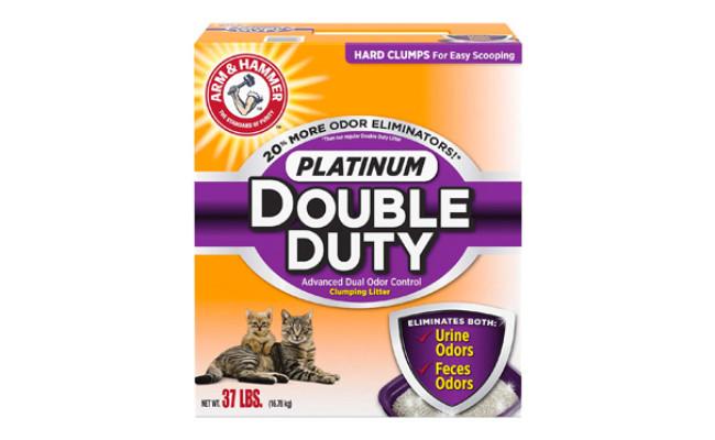 Arm & Hammer Platinum Double Duty Clumping Cat Litter