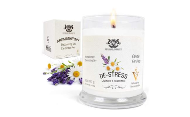 Aromatherapy Deodorizing Soy Pet Candle