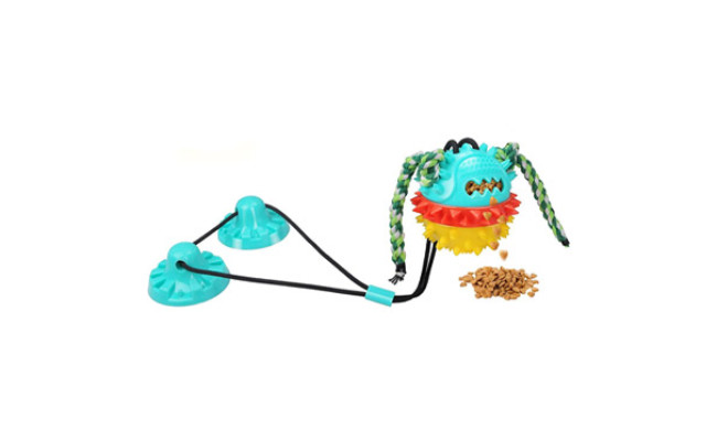 Authen Suction Cup Tug Toy for Aggressive Chewers