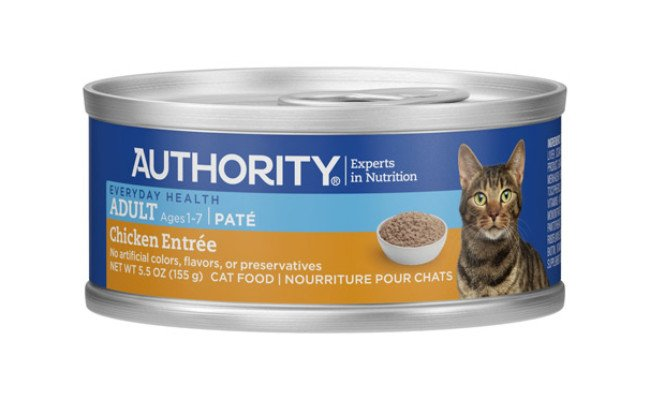 Authority Chicken Pate Canned Cat Food