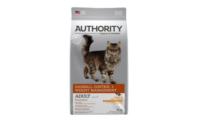 Authority Chicken & Rice Formula Dry Cat Food