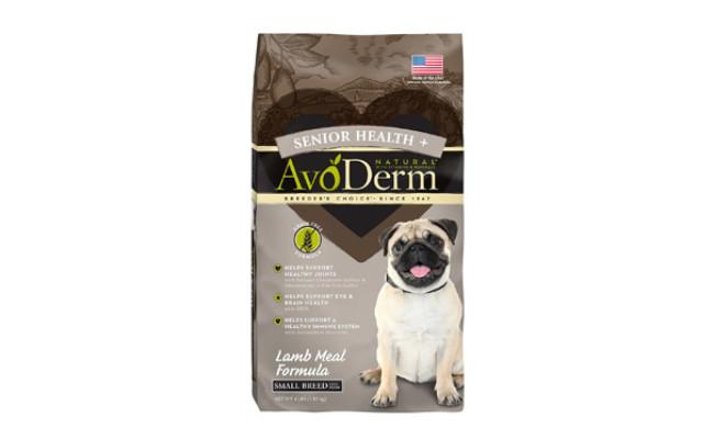 AvoDerm Lamb Meal Formula for Senior Health