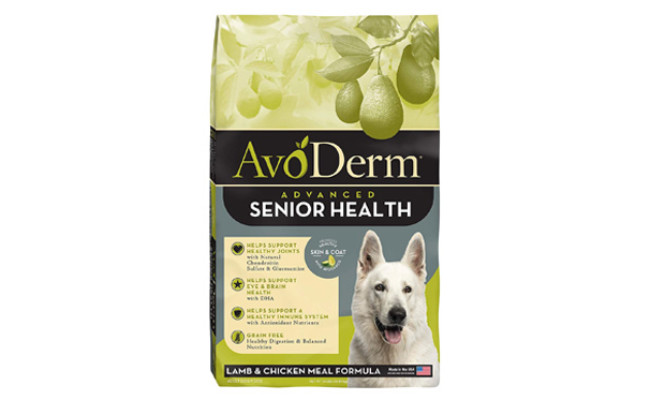 AvoDerm Natural Advanced Senior Health Dry Dog Food