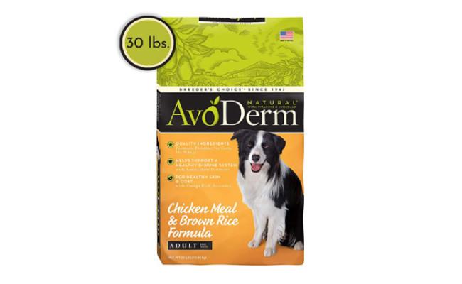 AvoDerm Natural Chicken Recipe Dog Food