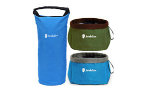 Awakelion Collapsible Dog Bowl