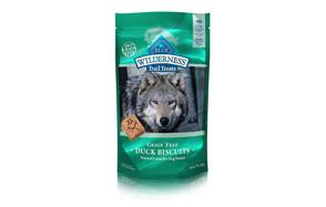 BLUE Wilderness Grain Free Biscuits Dog Treats