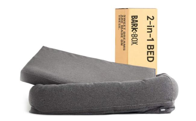 BarkBox Waterproof Lining Dog Cuddler Bed