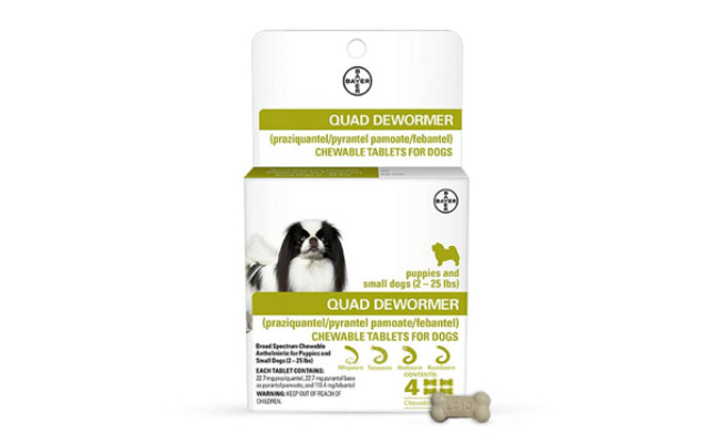 Bayer Animal Health Chewable Dewormer for Dogs