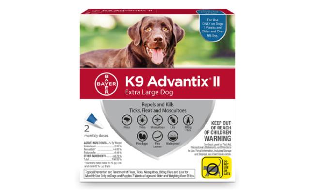 Bayer K9 Advantix II Flea Treatment for Dogs