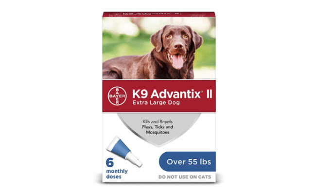 Bayer K9 Advantix II Tick Repellent for Dog