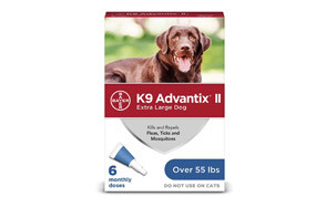 Bayer K9 Advantix II Tick Repellent for Dog