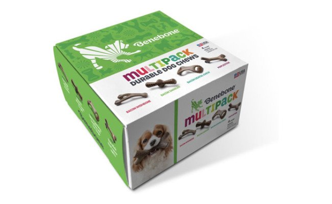 Benebone Multipack Durable Dog Chew Toy