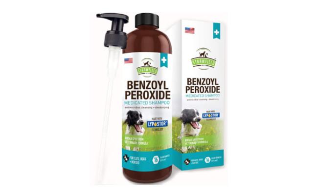 Benzoyl Peroxide Shampoo for Dogs