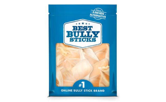 Best Bully Sticks Prime Thick-Cut Cow Ear Dog Chews