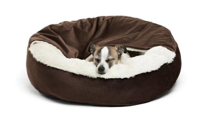 Best Friends by Sheri Cozy Cuddler Luxury Dog Bed