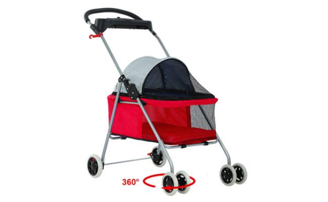 BestPet Waterproof Travel Dog Stroller