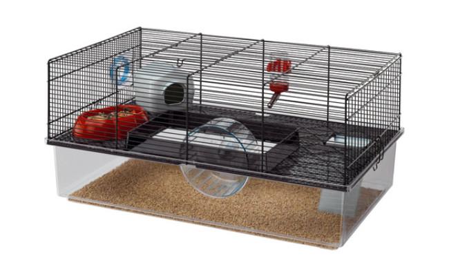 Black Hamster Cage by Ferplast