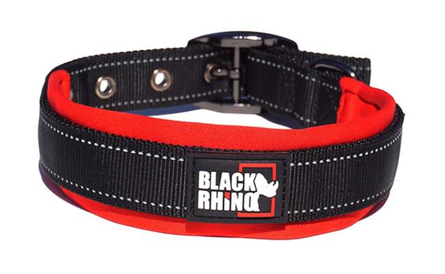 Black Rhino Ultra Soft Dog Collar