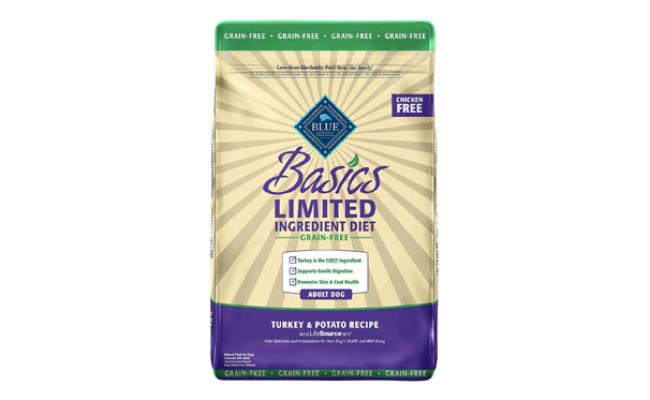 Blue Buffalo Basics Limited Ingredient Dog Food for Flatulence