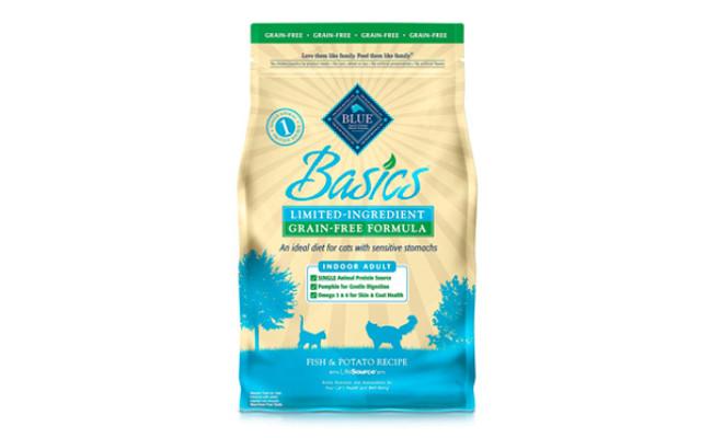 Blue Buffalo Basics Natural Dry Cat Food