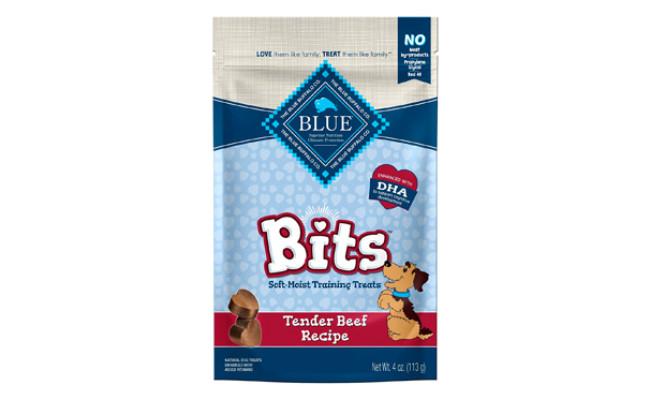 Blue Buffalo Bits Natural Soft-Moist Training Dog Treats