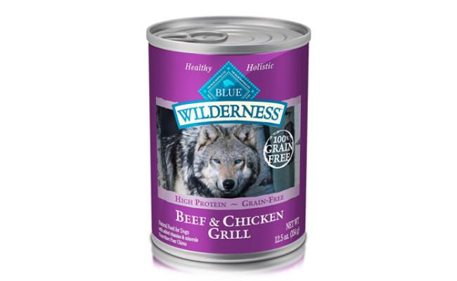 Blue Buffalo Wilderness Adult Wet Dog Food