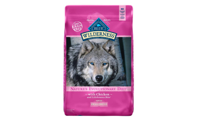 Blue Buffalo Wilderness Dog Food for Maltese