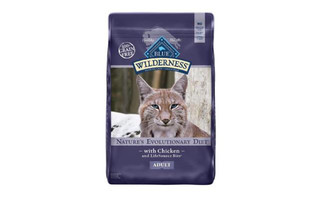 Blue Buffalo Wilderness Grain Free Cat Food
