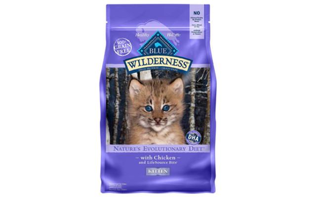 Blue Buffalo Natural Kitten Dry Cat Food