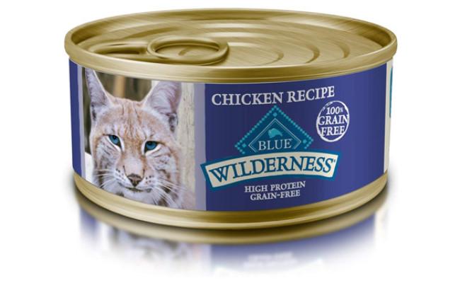 Blue Buffalo Wilderness Adult Pate Wet Cat Food