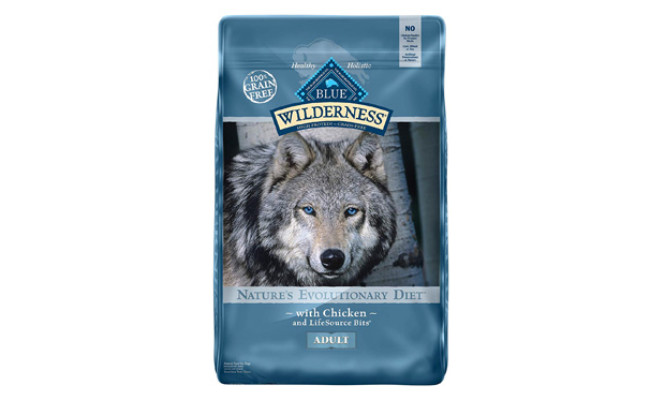 Blue Buffalo Wilderness High Protein Grain Dry Dog Food