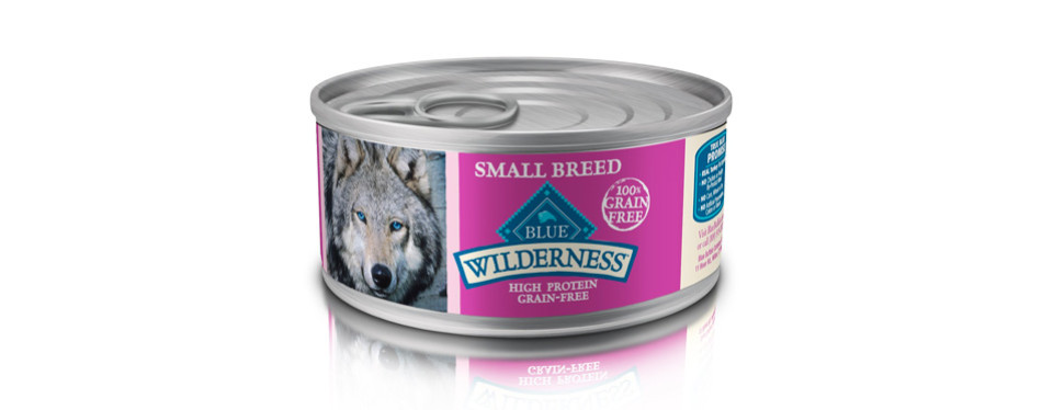 Blue Buffalo Wilderness Wet Dog Food for Small Breed