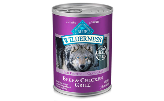 Blue Buffalo Wilderness Grain Free Wet Dog Food