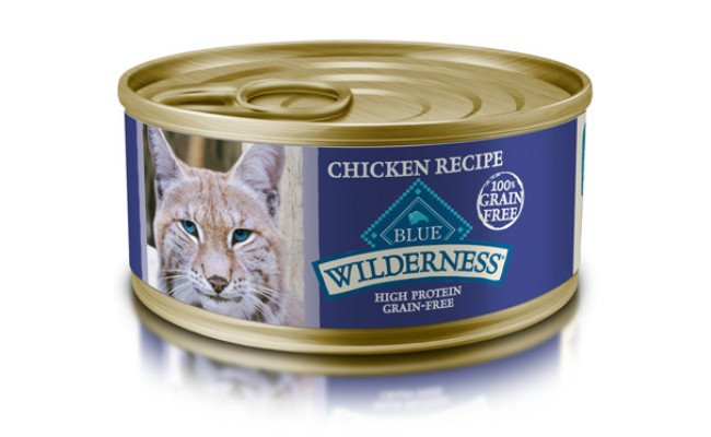 Blue Buffalo Wilderness High Protein Wet Cat Food