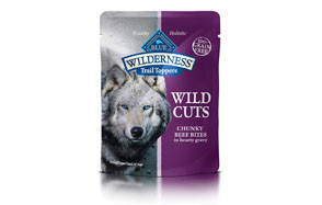 Blue Buffalo Wilderness Trail Toppers Wild Cuts High Protein Grain Free