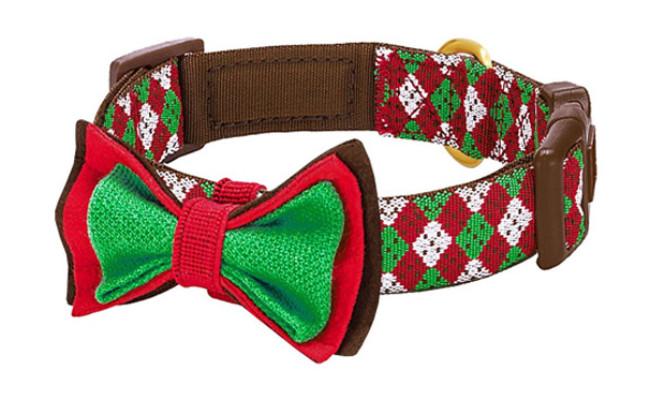 Blueberry Pet Christmas Party Fair Dog Collar