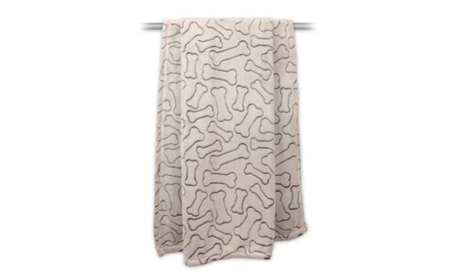Bone Dry Microfiber Pet Blanket for Dogs