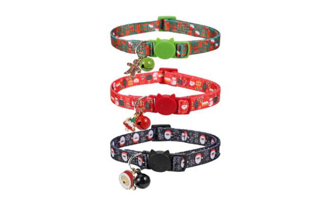 BoomBone Christmas Kitten Collar