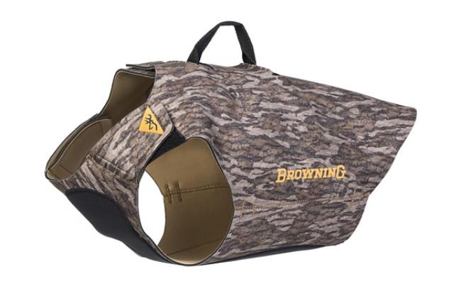 Browning Camo Neoprene Dog Vests