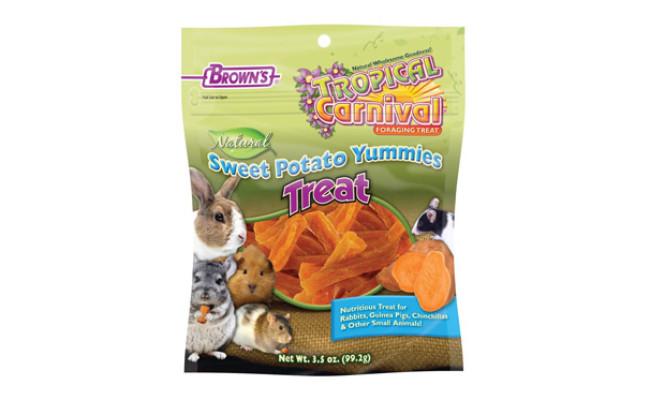 Brown's Tropical Carnival Natural Sweet Potato Yummies Treat