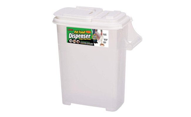 Dry Dog & Cat Food Plastic Storage Container