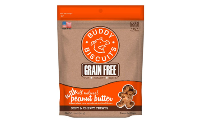 Buddy Biscuits Grain Free Soft & Chewy Dog Treats