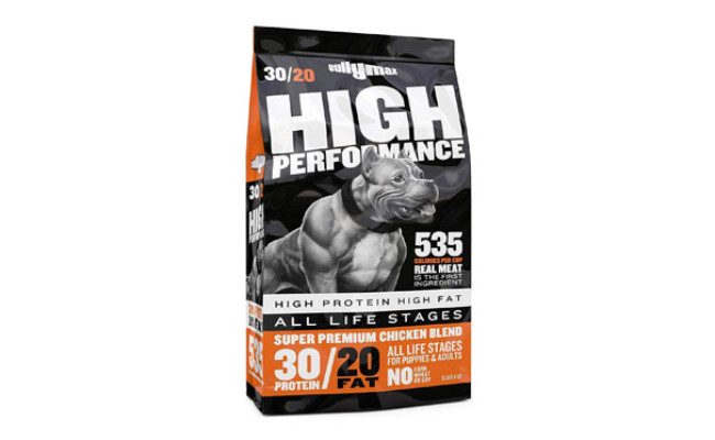 Bully Max High Performance Dog Food for Weight Gain