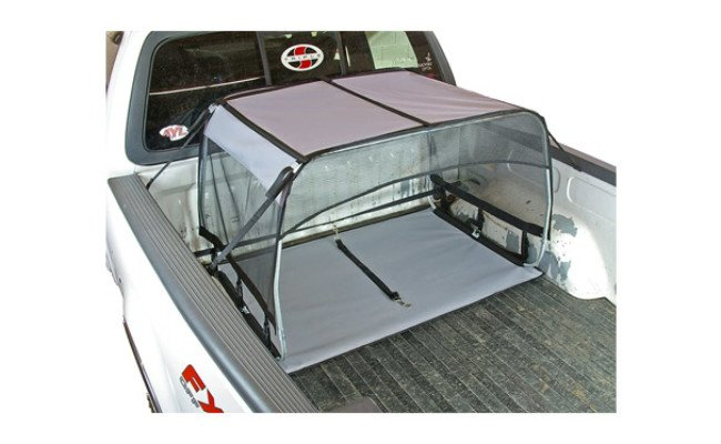 Bushwhacker K9 Canopy Tether Dog Bed for Truck