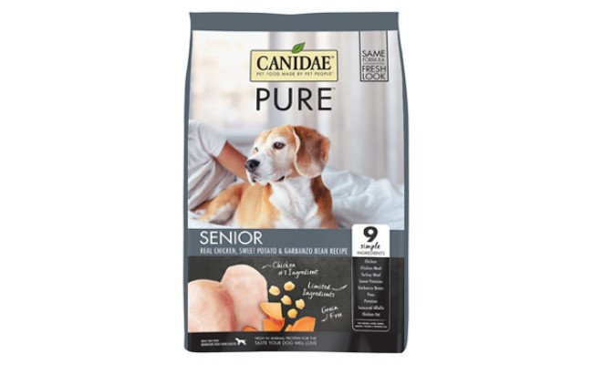 CANIDAE Grain-Free PURE Senior Limited Ingredient Chicken Dog Food