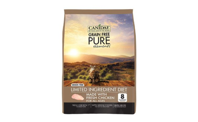 CANIDAE Grain Free Pure Dry Cat Food