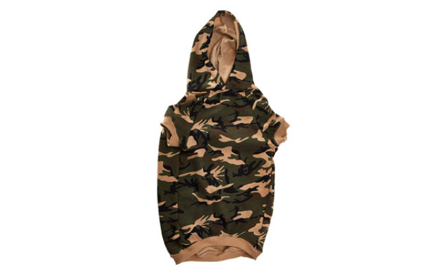 Casual Canine Cotton Camo Dog Hoodie
